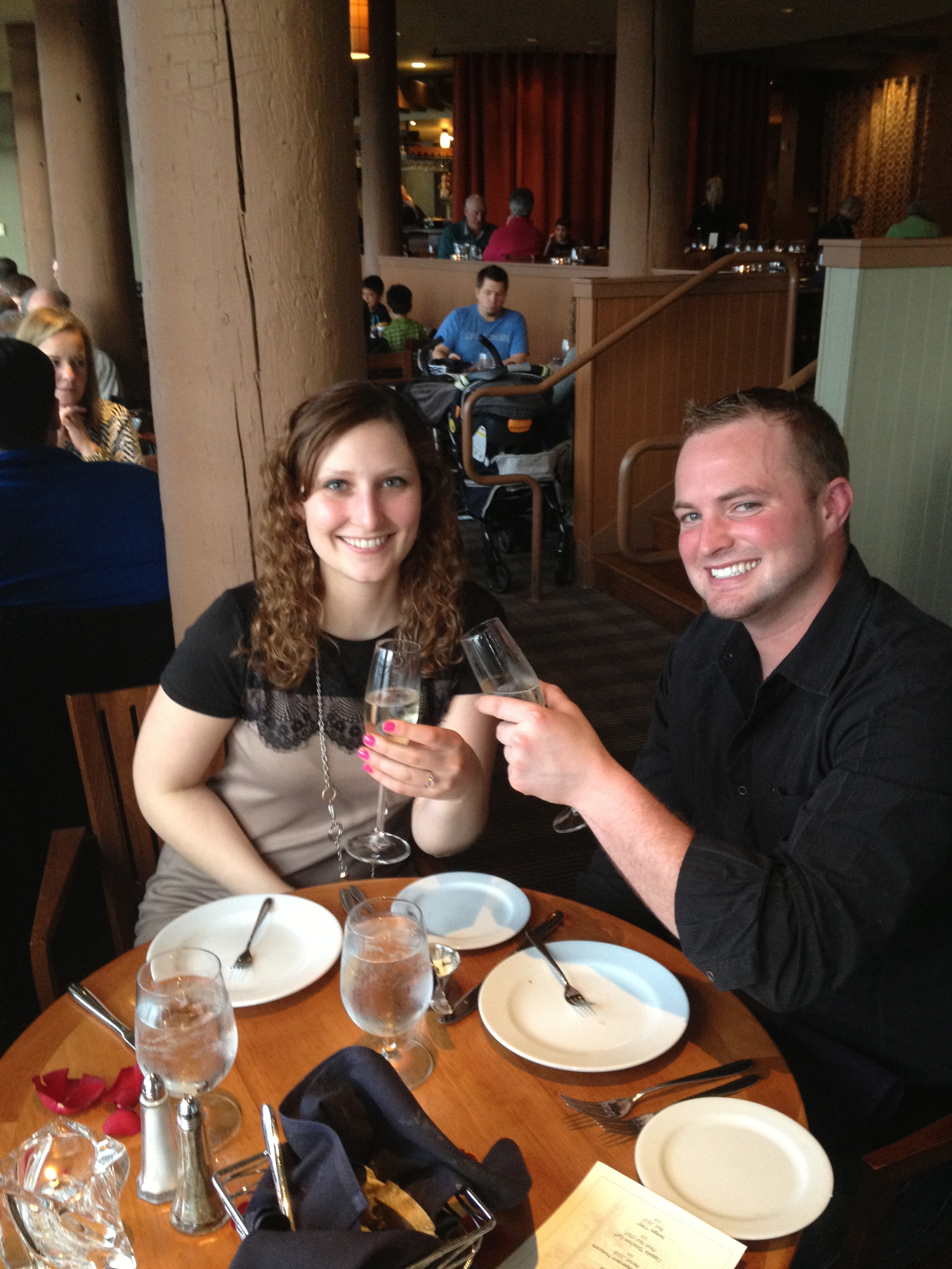 Engagement at the Alderbrook Resort