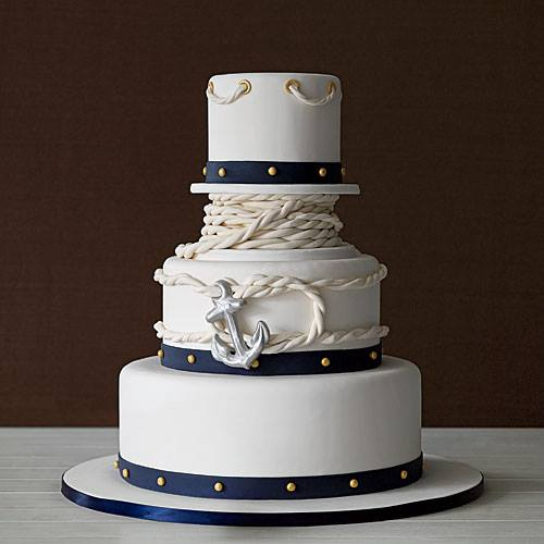 Nautical Wedding Cakes