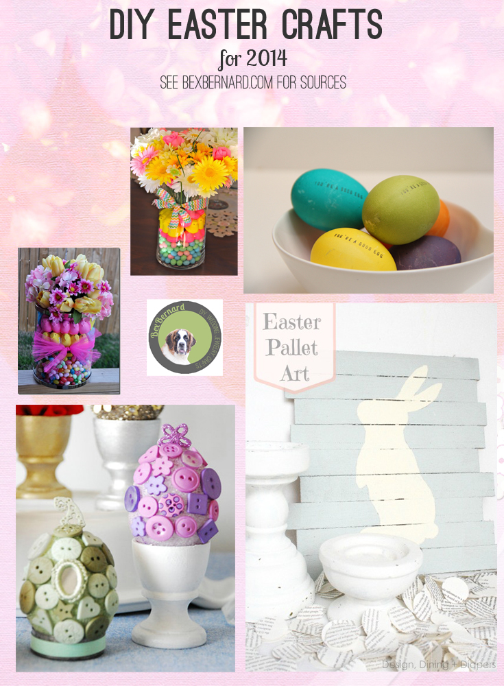 5 favorite Easter diy crafts | bexbernard.com