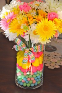 easter floral arrangement | bexbernard.com diy crafts via coast with me
