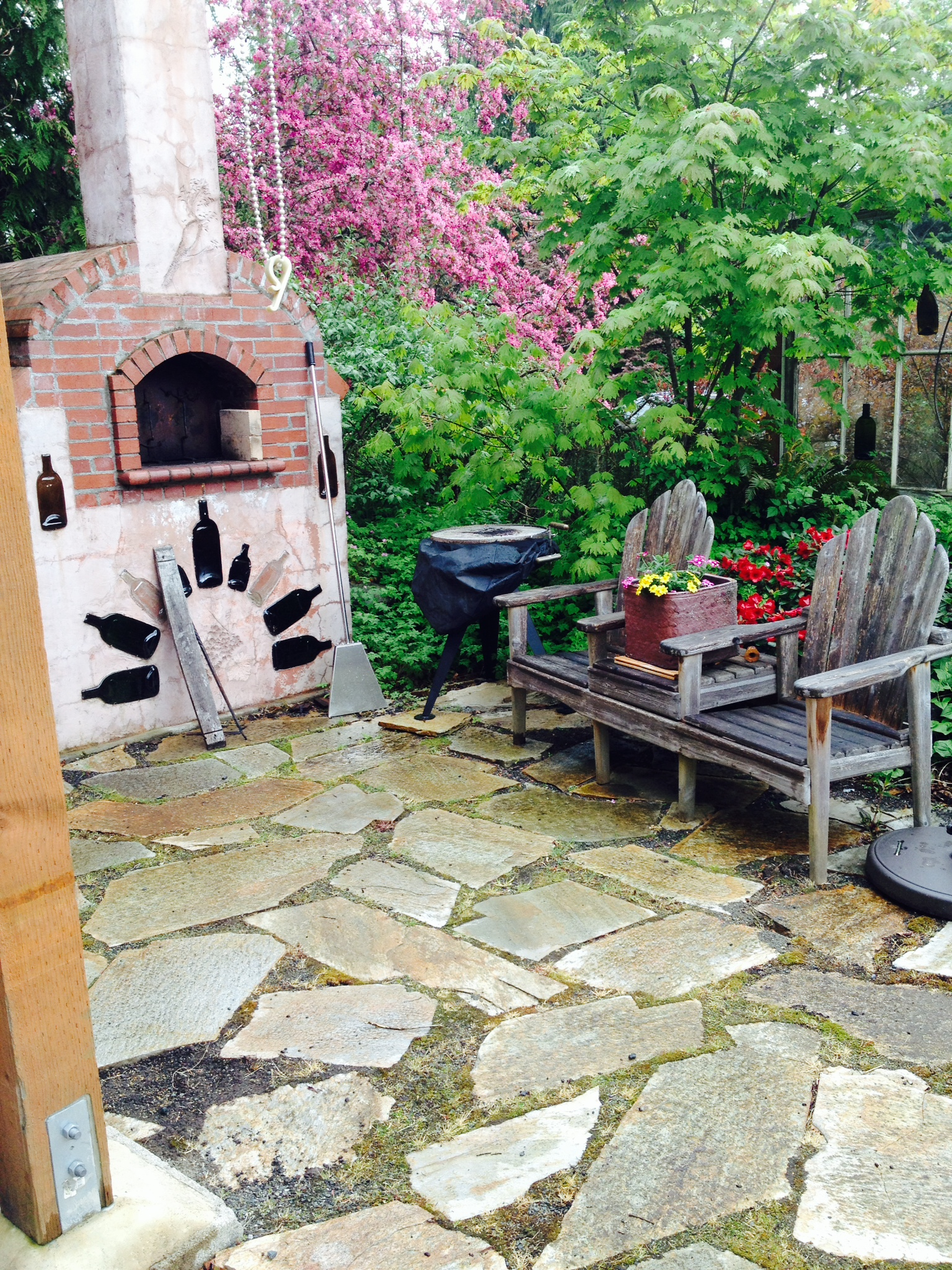 Backyard Vineyard Ideas : camaraderie wine cellars yard backyard diy ideas for garden stones