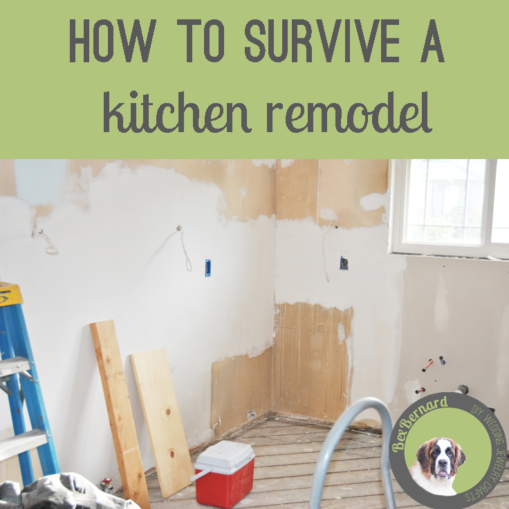 how to survive a kitchen remodel. we demolished and renovated our kitchen... which tested our relationship. Learn from our mistakes! | bexbernard.com