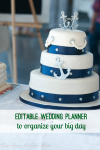 editable wedding planner blog button