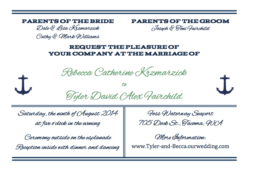 What To Include In Wedding Invitations. Pieces Of Wedding Invites: Venue,  Etiquette,