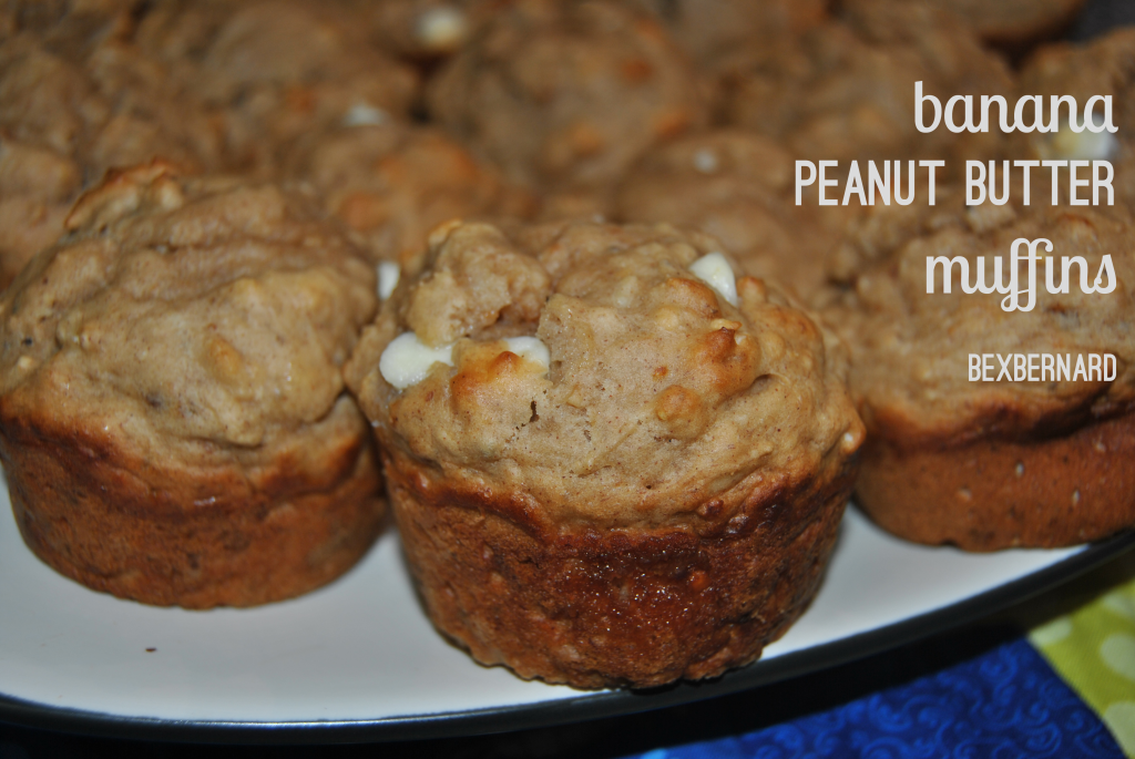 skinny peanut butter muffin recipe. Uses coconut oil, chia seeds, honey, and more. bexbernard.com