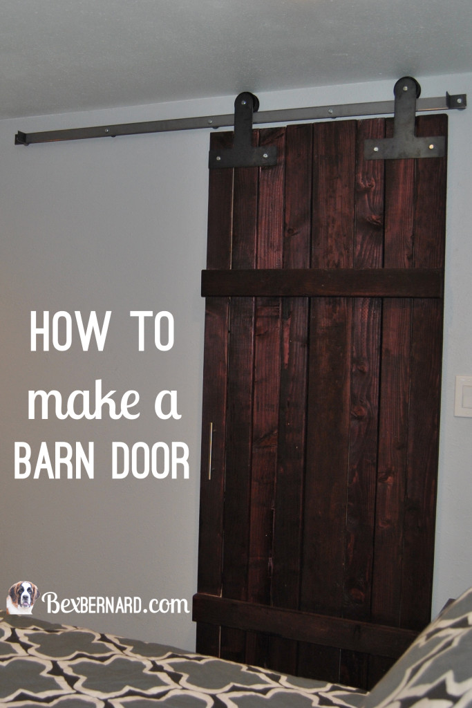 How to make a barn door - BexBernard
