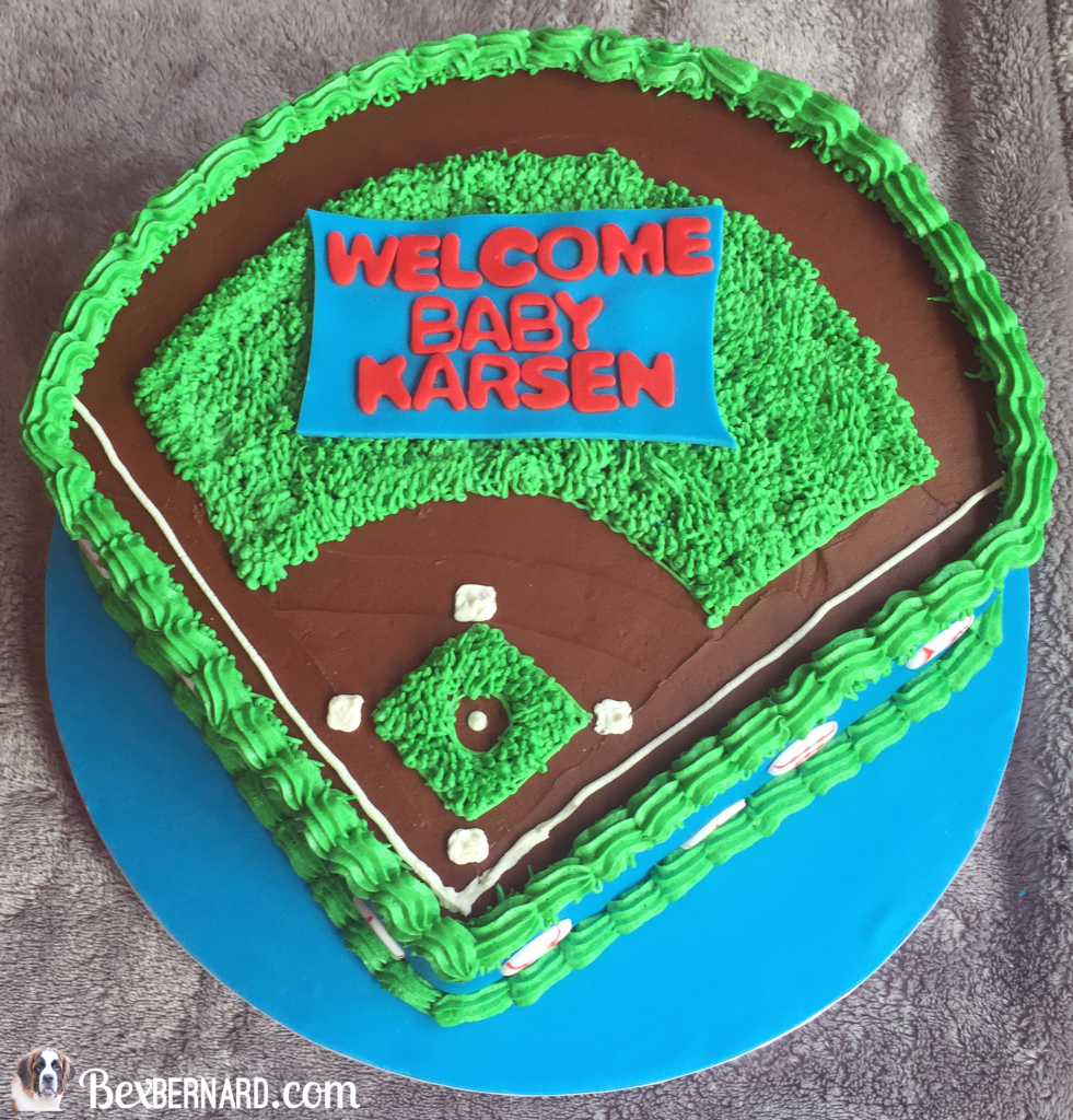baseball nursery and baby shower | bexbernard.com
