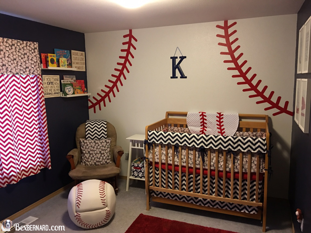 Baseball Nursery And Baby Shower