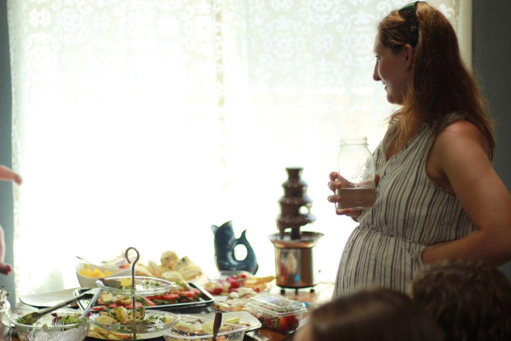 Tea party baby shower | bexbernard.com