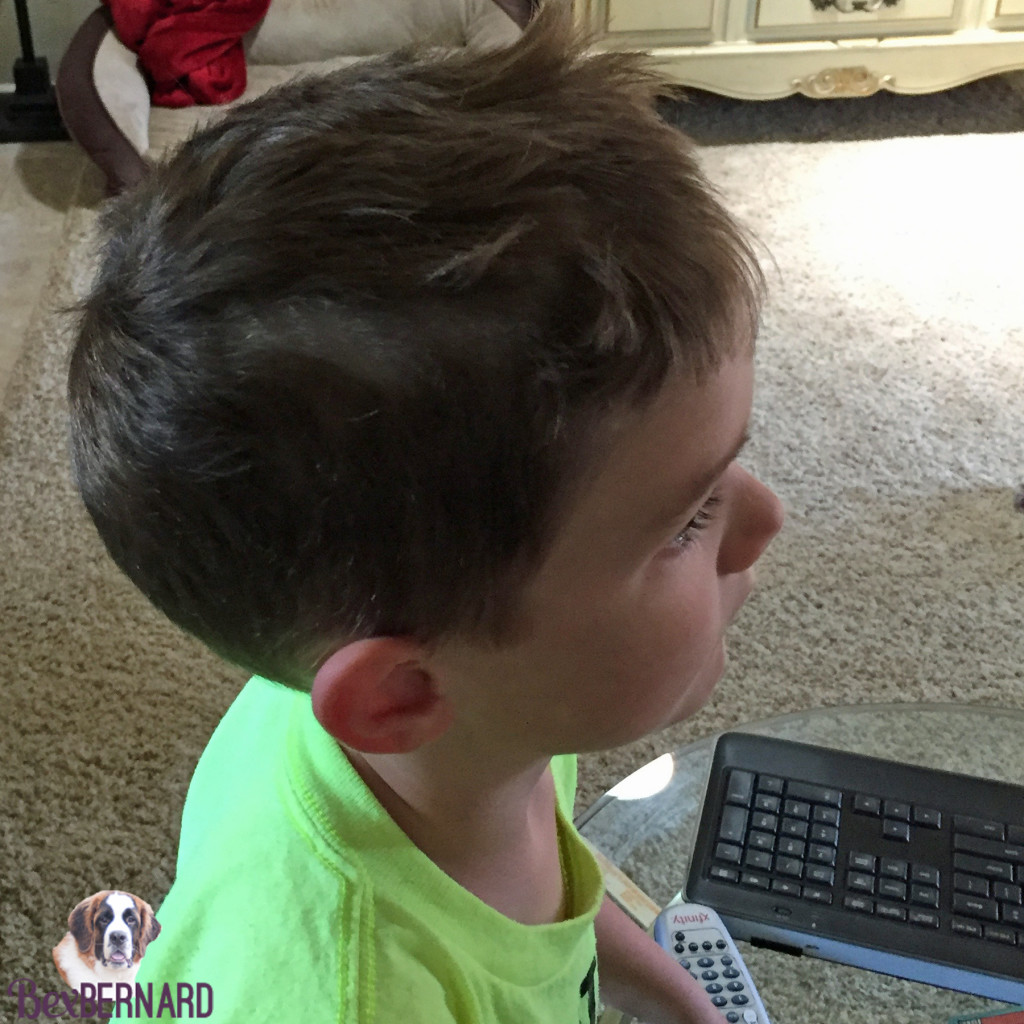 kid cuts his own hair | bexbernard.com