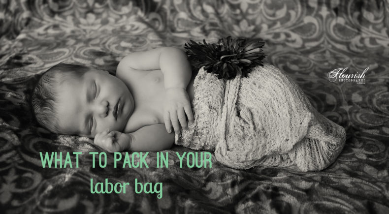 what to pack in your birth bag, labor bag for a birth center or hospital. | bexbernard.com